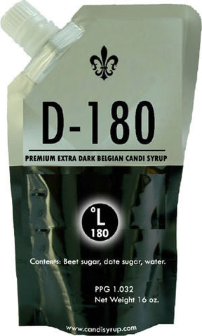 D180 Belgian Candi Syrup 1lb