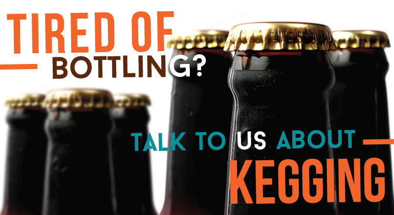 Ditch the glassware and go Stainless. Start kegging today!