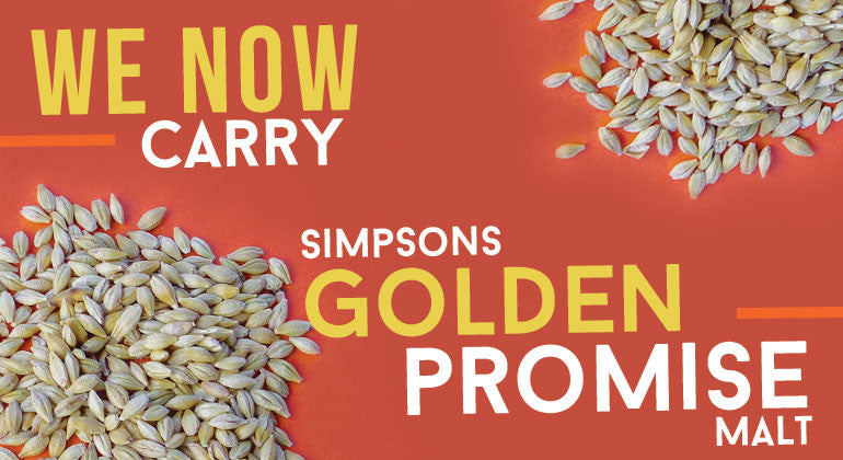 BIY now carries Golden Promise in the bin AND in bulk!