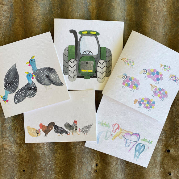 The Farm - Pack of 5 Cards