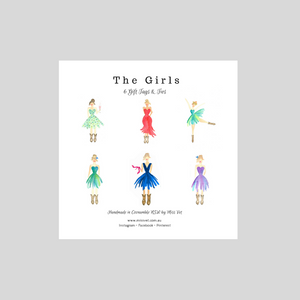 Gift Tags - The Girls