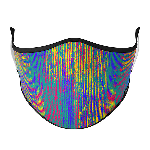 - Colourful Stripe Mask