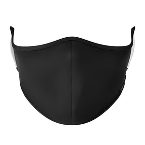 - Plain Black VYE Mask (100 pack)