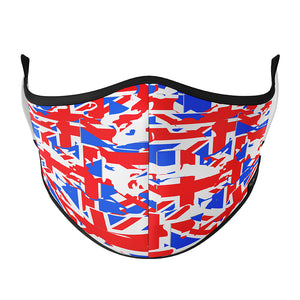 UK Abstract Flag SPORTS Mask