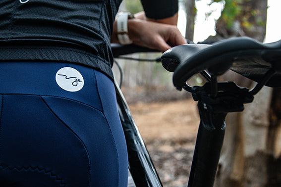 Ladies Navy Velo Bibshorts