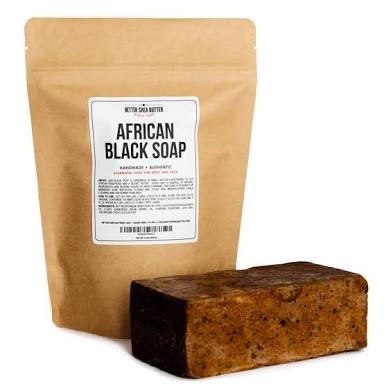 African black soap - omez beauty products