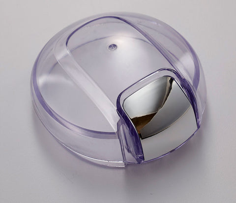Coffee grinder clear lid to allow easy viewing of contents, to determine when the perfect grind level has been reached