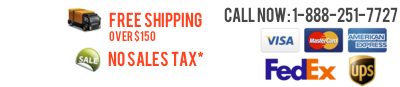 Call Now: 1-888-251-7727 Free US shipping on Orders over $149