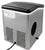 NewAir AI-100SS Portable Stainless Steel & Black Icemaker