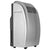 EdgeStar 12,000 BTU 4-in-1 Portable Air Conditioner-Cleaner-Dehumidifier-Fan - Silver