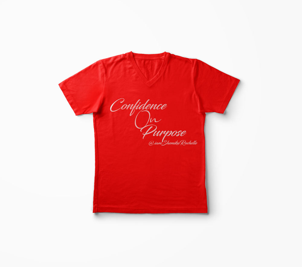 Confidence on Purpose T-Shirt