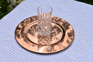 The Copper Charger Plate