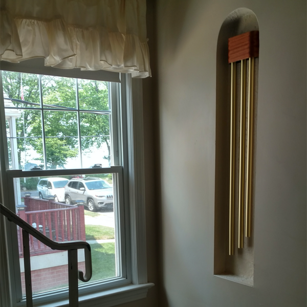ElectraChime Ribbon Smartens Up A Cleveland Alcove