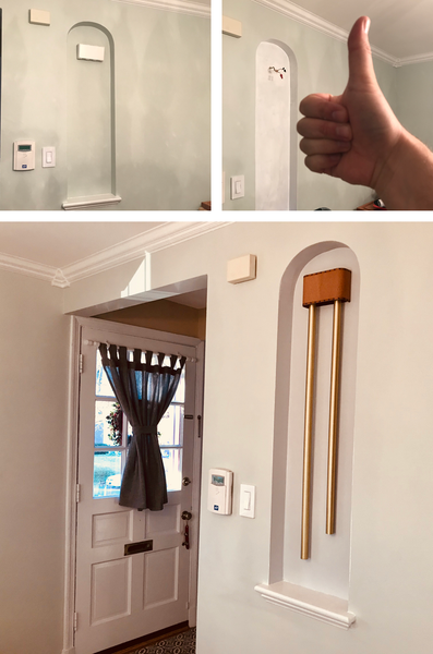 Thumbs Up for New ElectraChime Doorbell in Niche