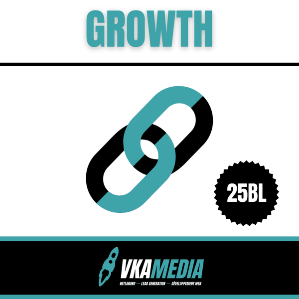 Campagne de Netlinking Growth | VKAMEDIA®