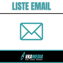 Liste EMAIL Prospects | VKAMEDIA®