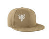 Classic Fitted Hat in Tan
