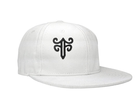 Classic Fitted Hat in White