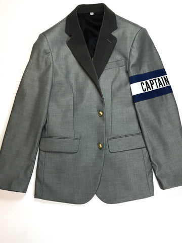 FashionFitted Captain Sports Jacket — Gray