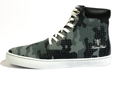 Yeahh! Camo High-top — Gray