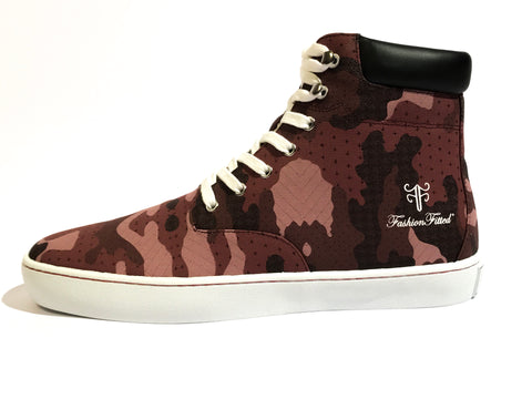 Yeahh! Camo High-top — Maroon