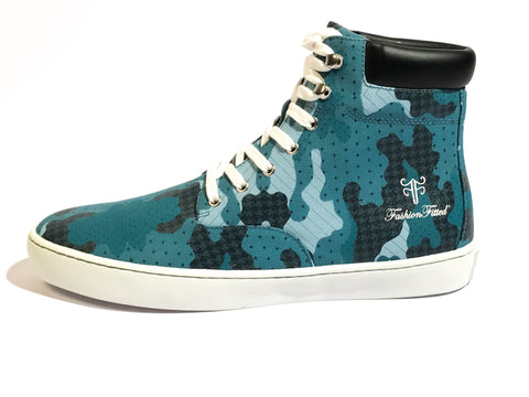 Yeahh! Camo High-top — Blue