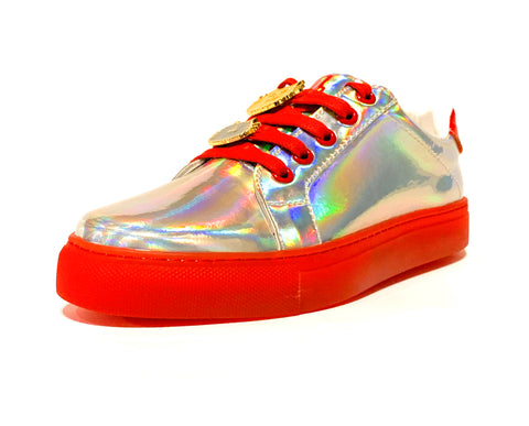 Jelly by FashionFitted® Sneakers — Red