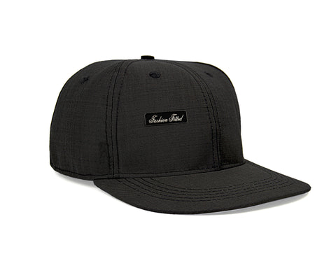 Suit Fitted Hat in Black