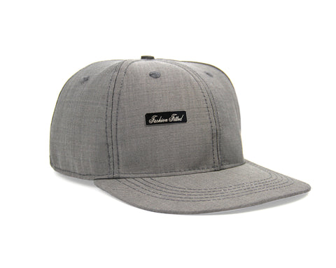 Suit Fitted Hat - Gray