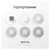Instagram Highlight Cover Bild-polaroid / Image-polaroid In 6 verschiedenen White Farben