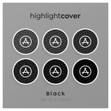 Instagram Highlight Cover App-store In 6 verschiedenen Black Farben