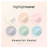 Instagram Highlight Cover Spritze / Syringe In 6 verschiedenen Powerful Pastel Farben