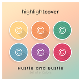 Instagram Highlight Cover Urheberrecht / Copyright In 6 verschiedenen Hustle and Bustle Farben
