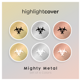 Instagram Highlight Cover Quarantaene / Quarantine In 6 verschiedenen Mighty Metal Farben