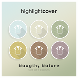Instagram Highlight Cover Poloshirt In 6 verschiedenen Naughty Nature Farben
