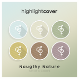 Instagram Highlight Cover Paar-hetero / Couple-straight In 6 verschiedenen Naughty Nature Farben