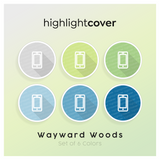 Instagram Highlight Cover Handy / Mobile In 6 verschiedenen Wayward Woods Farben