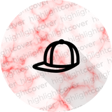 Hut-kappe / Hat-cap (Marvelous Marble)