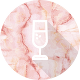 Glas-champagner / Glass-champagne (Marvelous Marble)