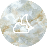 Wolken-mond / Cloud-moon (Marvelous Marble)