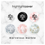 Instagram Highlight Cover Hauptredner / Keynote In 6 verschiedenen Marvelous Marble Farben