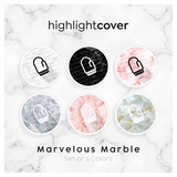 Instagram Highlight Cover Fausthandschuh / Mitten In 6 verschiedenen Marvelous Marble Farben
