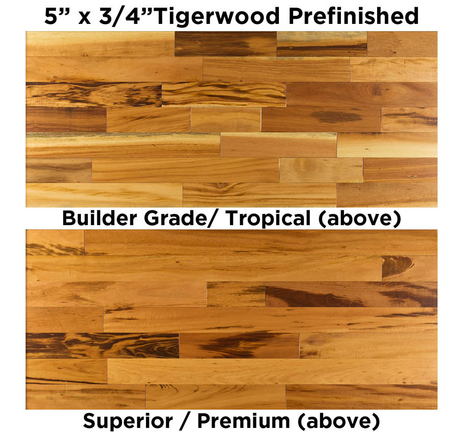 Tigerwood Premium vs Builder