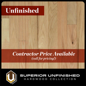 "3 1/4"" x 3/4"" Red Oak  #1 Common Unfinished Hardwood flooring"