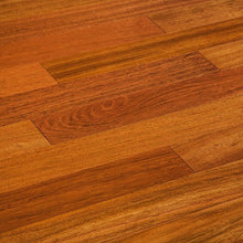 "Load image into Gallery viewer, 3 1/2"" x 3/8"" Engineered Brazilian Cherry Natural Hardwood Flooring"