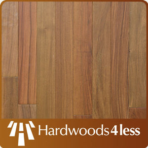 "3"" x 3/4"" Brazilian Walnut (Ipe) Select & Better Unfinished Hardwood Flooring"