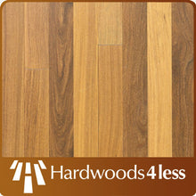 "Load image into Gallery viewer, 3 1/4"" x 3/4"" Brazilian Teak #1 Common Unfinished Hardwood Flooring"