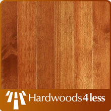 "Load image into Gallery viewer, 3 1/2"" x 3/4"" Merpauh  Brazilian Cherry Stain Hardwood Flooring"
