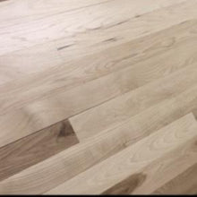 "Load image into Gallery viewer, 3"" x 3/4"" Prefinished Hickory Square Edge Hardwood Flooring"