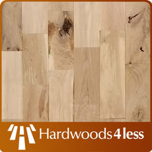 "Load image into Gallery viewer, 2 1/4"" x 3/4"" White Oak Utility Grade #3 Common Unfinished  Hardwood Flooring"
